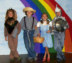 Wizard of Oz production, August 2010