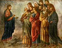 Jesus sending the 12
